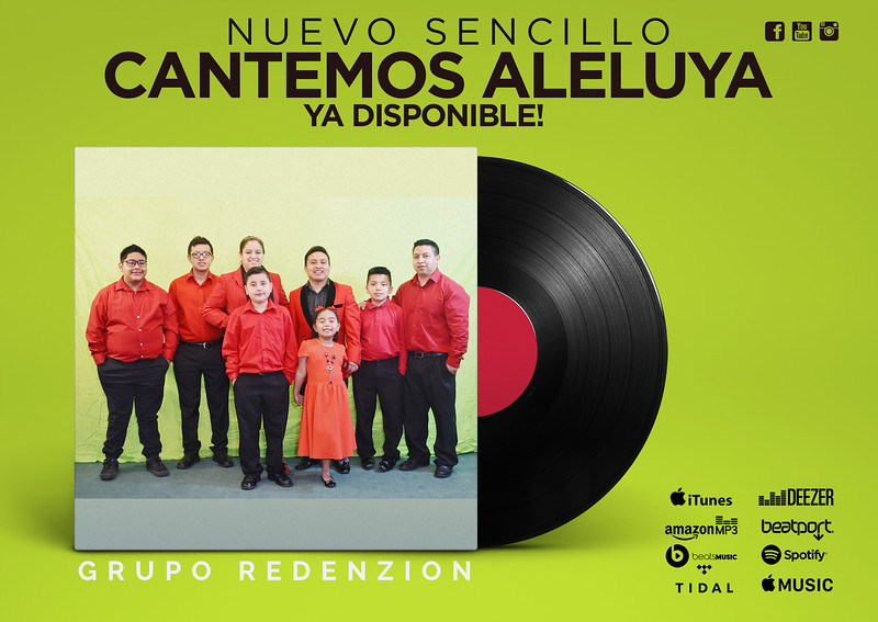 Grupo RedenZion - Cantemos Aleluya - Ya Disponible.jpg