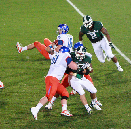 Boise State at MSU football 2012