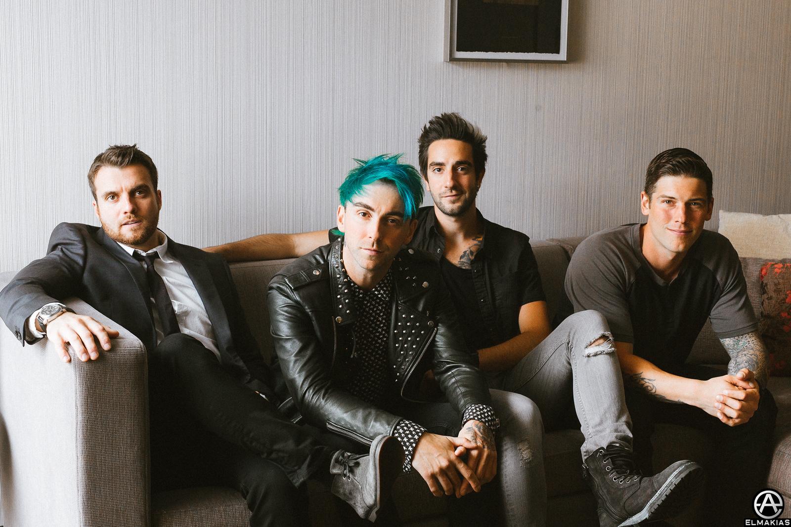 All Time Low at the APMAs 2015 by Adam Elmakias