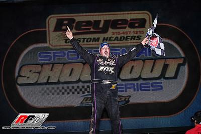 ESS Legends Reunion - Weedsport Speedway - 8/13/17 - John Zachary