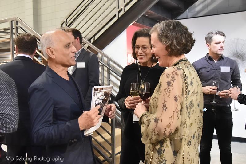 Zahid Sardar, Nikki Wood and Susan Noyes