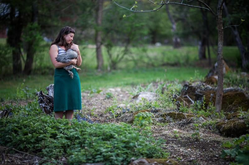 Edible Hudson Valley Magazine shoot on women herbalists. Claudia Abbott-Barish