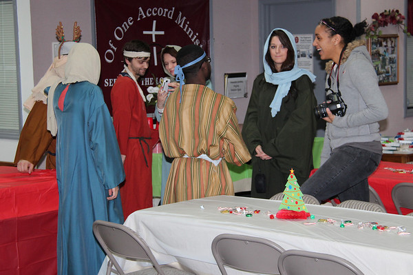 2012, Brentwood Baptist provides Christmas Party at Shepherd's Center