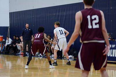 OE Freshmen Boys Basketball Vs Plainfield No. 2018