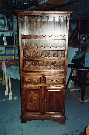 Wine Cabinet Oct 2000