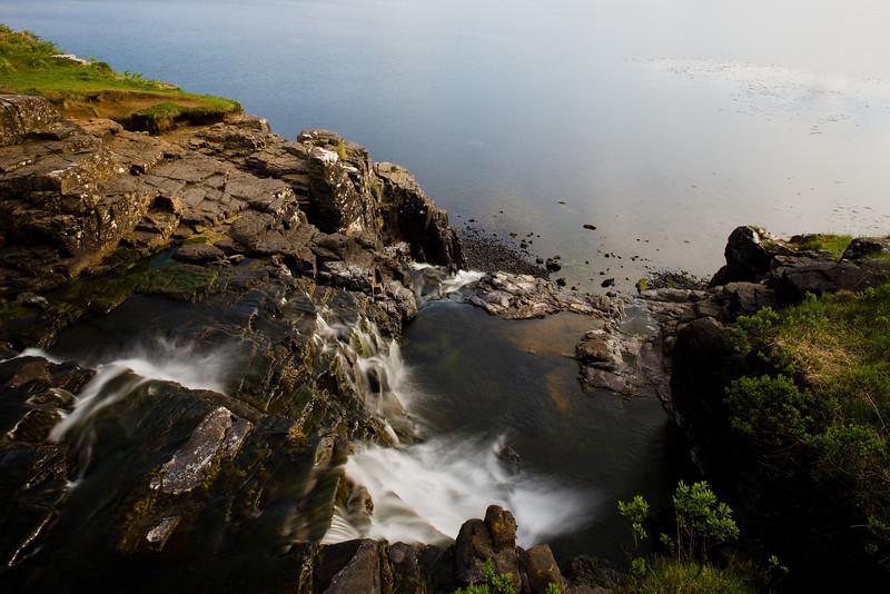 Waterfall near Ulva Ferry