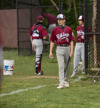 2021 NS JV Baseball vs Mineola