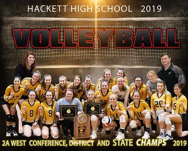 Hackett Volleyball  2019