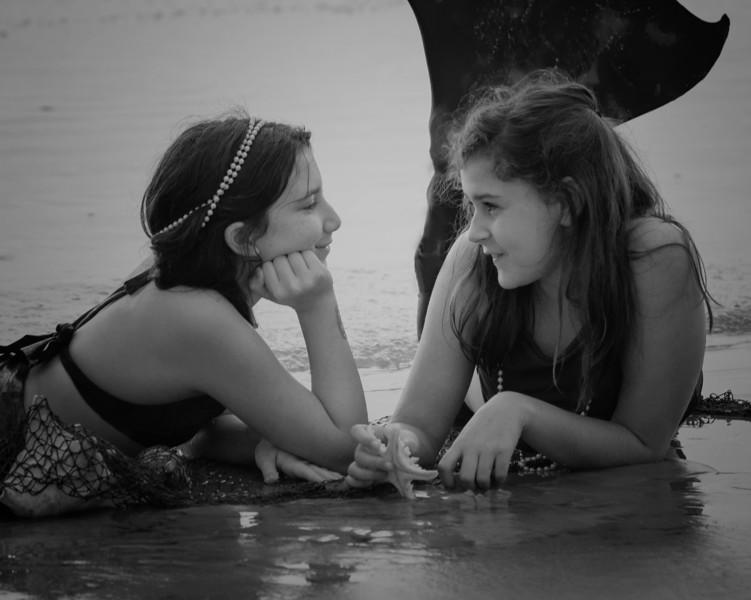 MermaidsV&E cropped B&W.jpg