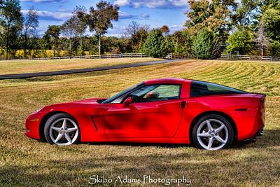 Kerri's Birthday Corvette Shoot