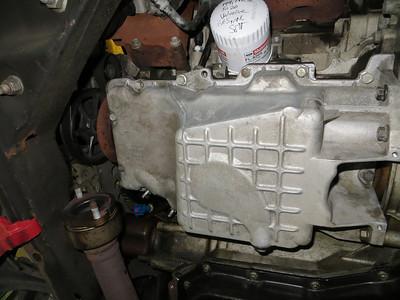 Oil pan gasket