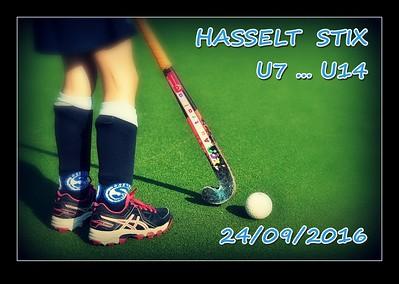 HASSELT  STIX  U7 ... U14  24/09/2016
