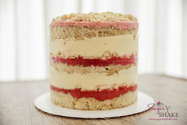 Momofuku Milk Bar Strawberry-Lemon Layer Cake