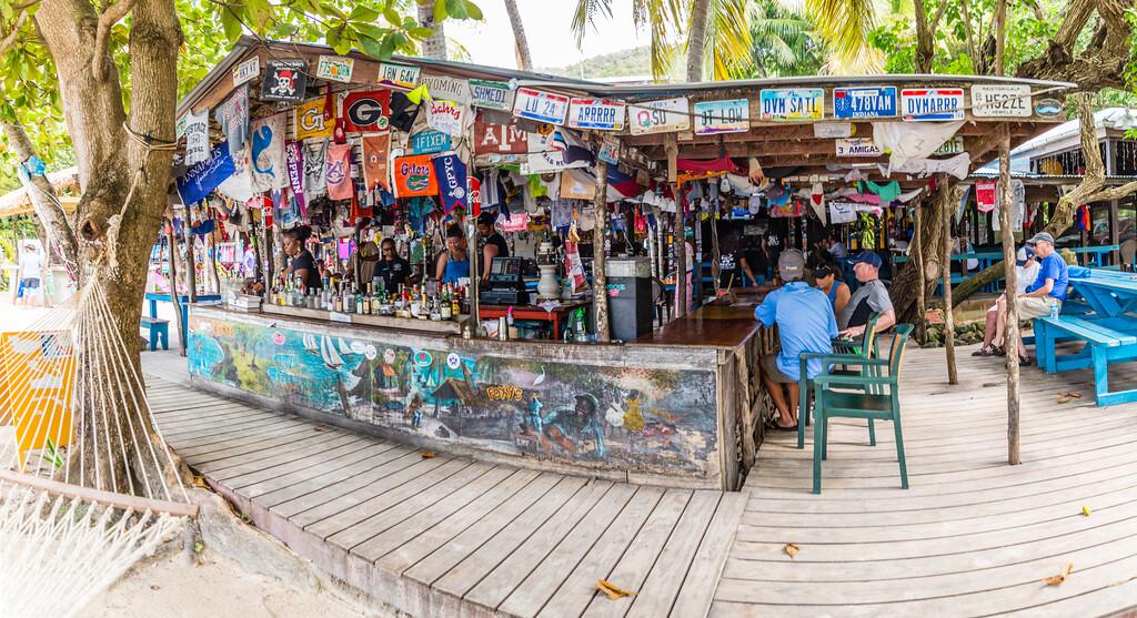Foxy's Beach Bar, Jost Van Dyke
