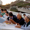 Gibraltar, 23rd July 2014  - Muslims and Non-Muslims joined together to celebrate Iftar at the Mosque at Europa Point. Iftar refers to the evening meal when Muslims end their fast at the time of sunset. This was the first time Non-Muslims were invited in Gibraltar