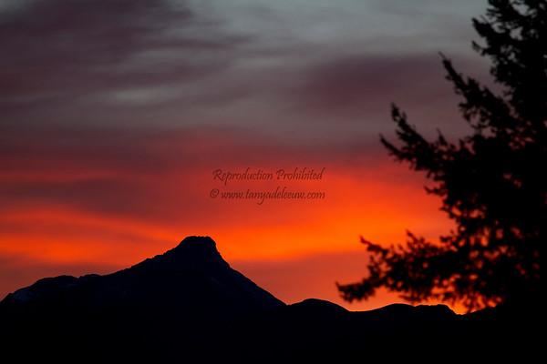 Columbia Valley Sunset