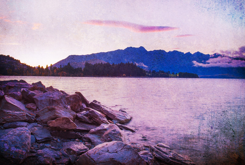 The Remarkables at Sunrise