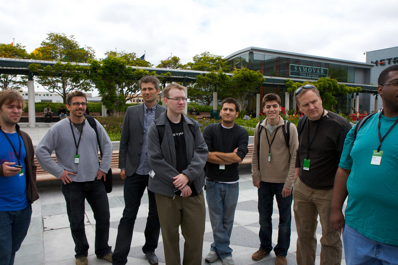 Developers waiting for artists to arrive WWDC 2009