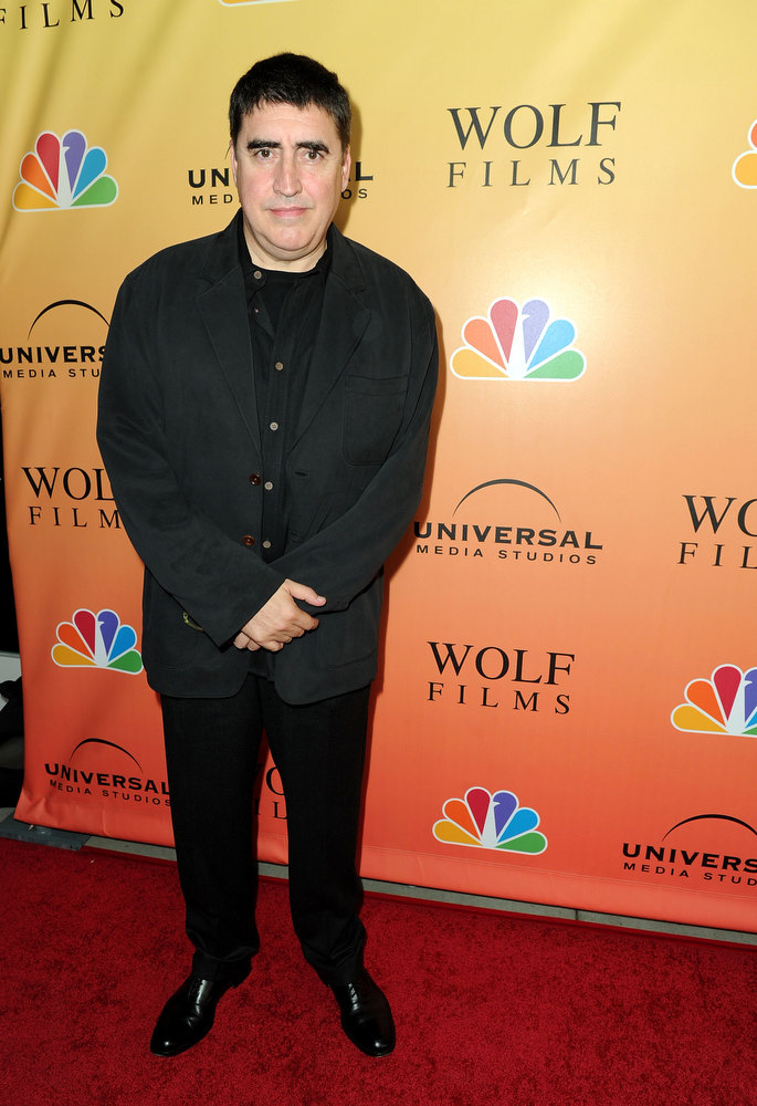 ". Actor Alfred Molina arrives at premiere of NBC\'s ""Law & Order: Los Angeles\"" held at Drai\'s Hollywood on September 27, 2010 in Los Angeles, California.  (Photo by Alberto E. Rodriguez/Getty Images)"