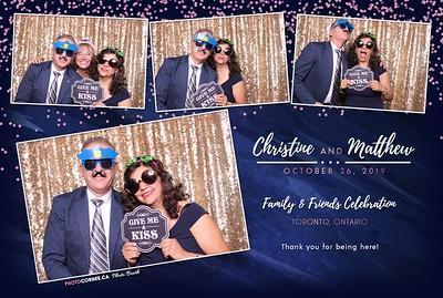 Christine & Matthew - 10-26-2019