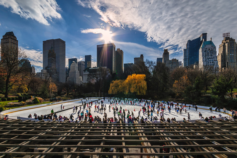 Central Park Ice Skating, New York