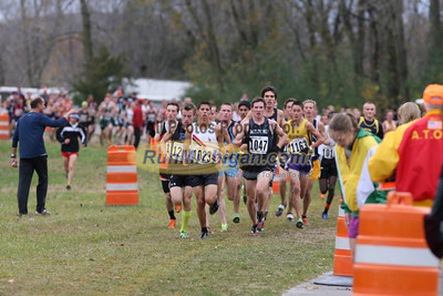 1.2 Mile D1 Boys - 2013 MHSAA LP XC