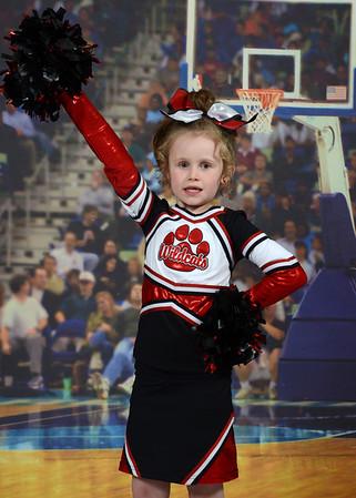 Lanier Cheerleaders 2013-2014
