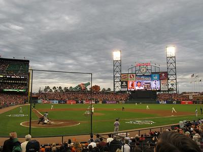 2010 World Series Game 2 - Giants vs. Rangers - Thursday September 28th, 2010