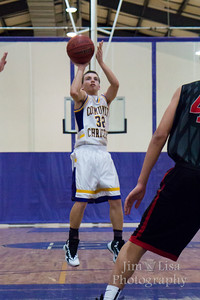 JV Boys Basketball: CCS vs. Crossings, February 10