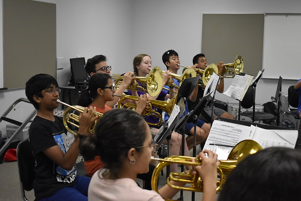2018.08.01 - Band Camp Sectionals (at Rice MS)