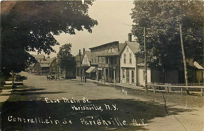 Parishville, New York Main Street, East, Gormick's.jpg