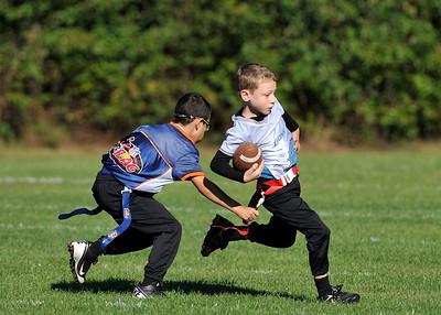 Flag Lions vs. Broncos 9-15-12