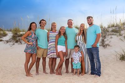 Ryan and Carrie's Crew Panama City Beach 2018