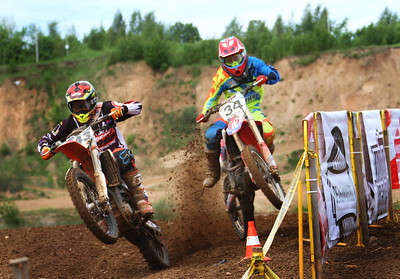 Russian round of European Motocross Championship 2017.