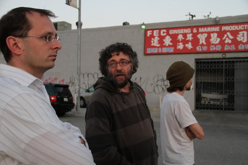Jeff, Fabian and James