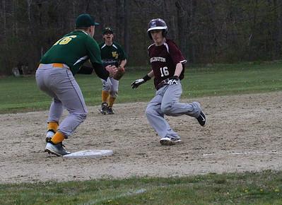 2016 AMHS Varsity Baseball vs WR photos by Gary Baker