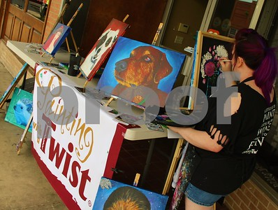 7/12/18 Longview's Downtown Art Walk by Byron Haden