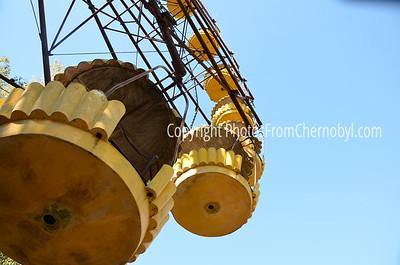 Ferris Wheel at the Pripyat Fun Park, near the Chernobyl Nuclear Power Plant, Ukraine.