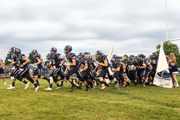 CC Varsity Football vs Guerin 2016-8-26