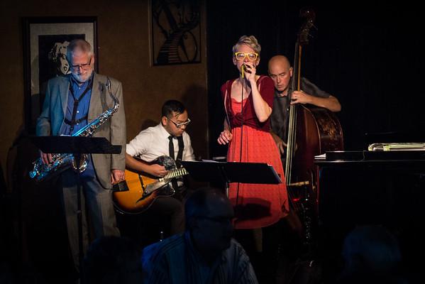 Sarah, Steve, Matt and Kurt - Degage Jazz Cafe 11-18-2016