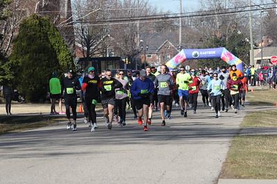 Wave 3 Start - 2021 Bill Roney Memorial 5K Run