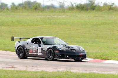 27 Black Corvette