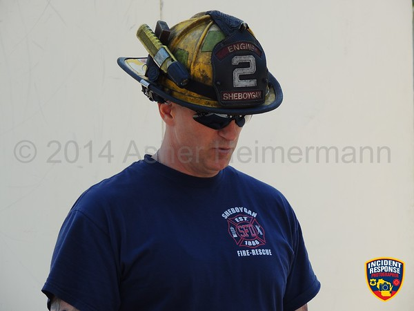 Sheboygan Fire Department Training on June 5, 2014