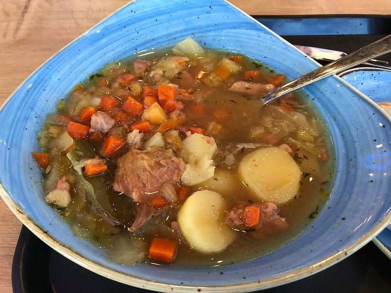 Meat soup - lamb - delicious