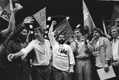 1989 anti-privatization protest