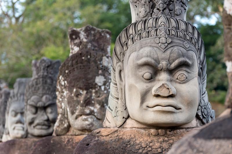 Statues of Demons, Angkor Thom
