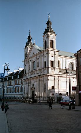 Churches in Warsaw