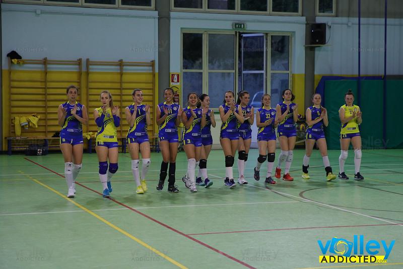 Virtus Cermenate 0 - Cd Transport Como Volley 3 25^ Giornata Serie Df 2018/19 Lombardia Cermenate (CO) - 27 aprile 2019