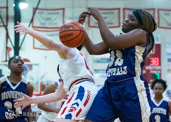 Broughton girls varsity basketball vs Sanderson. February 12, 2019. 750_6046