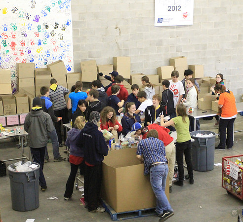 Assisting Ottawa Food Bank